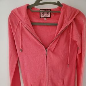 JUICY Couture 100% cashmere Hoodie sweater
